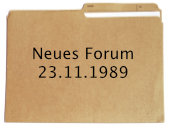 Neues Forum, 23.11.1989